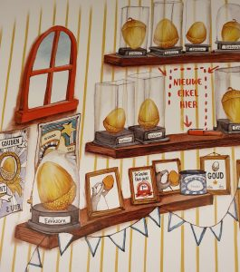 prentenboek De gouden eikel Katy Hudson