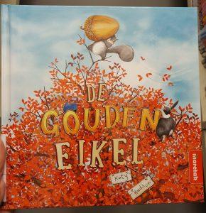prentenboek De gouden eikel Katy Hudson,