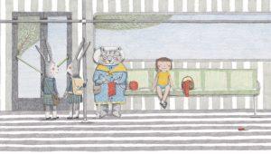 prentenboek Met de bus Marianne Dubuc Jacques Dohmen