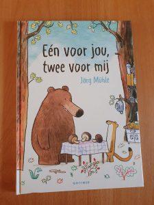 prentenboek Eén voor jou twee voor mij Jörg Mühle
