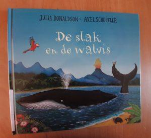 prentenboek De slak en de walvis Julia Donaldson Axel Scheffler Bette Westera