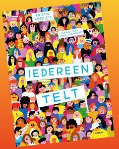 prentenboek Iedereen telt Kristin Roskifte Sylvia Vanden Heede