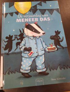 prentenboek De verjaardag van meneer Das Anne Schneider
