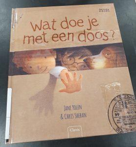 prentenboek Wat doe je met een doos? Jane Yolen en Chris Sheban