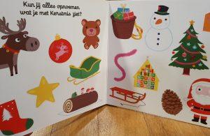 prentenboek Mijn schuifboekje Kerstmis Nathalie Choux