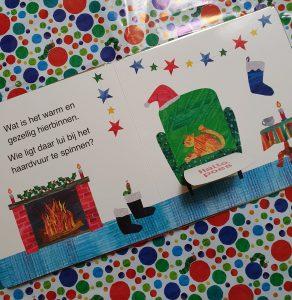 prentenboek Kerstmis met Rupsje Nooitgenoeg Eric Carle