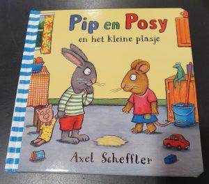 prentenboek Pip en Posy en het kleine plasje Axel Scheffler