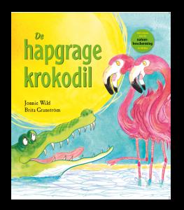 prentenboek De hapgrage krokodil Jonnie Wild Britta Granström