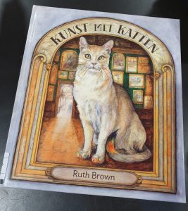 prentenboek Kunst met katten Ruth Brown
