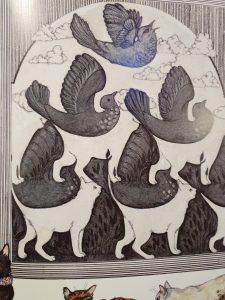 prentenboek Kunst met katten Ruth Brown