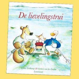 prentenboek De lievelingstrui Tjibbe Veldkamp Gerdien van der Linden