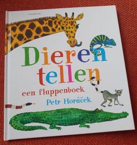 prentenboek Dieren tellen een flappenboek Petr Horáček