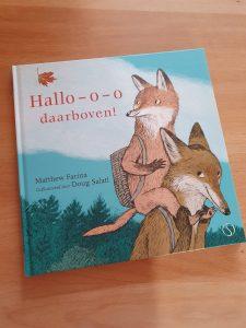 prentenboek Hallo-o-o daarboven! Matthew Farina Doug Salati