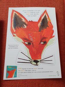prentenboek Eén vos; een telboek-thriller Kate Read