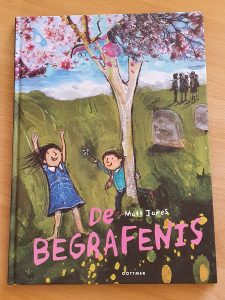 prentenboek De begrafenis Matt Jones