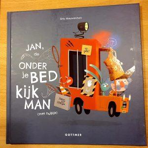 prentenboek Jan, de Onderjebedkijkman (met hulpje) Erik Nieuwenhuis