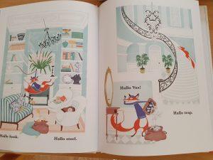 prentenboek Hallo deur Alastair Heim Alisa Coburn