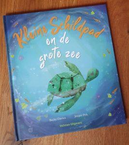 prentenboek Kleine schildpad en de grote zee Becky Davies Jennie Poh