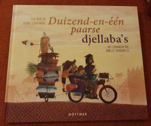 prentenboek Duizend-en-één paarse djellaba's Lisa Boersen Hasna Elbaamrani Annelies Vandenbosch