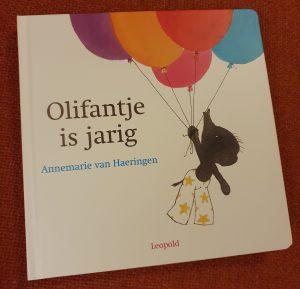 prentenboek Olifantje is jarig Annemarie van Haeringen