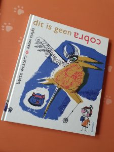 boek Dit is geen cobra Bette Westera Sylvia Weve