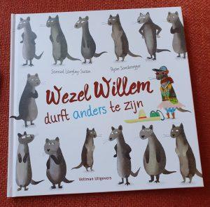 prentenboek Wezel Willem durft anders te zijn Samuel Langley-Swain Ryan Sonderegger