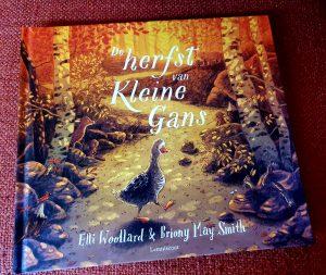 prentenboek De herfst van Kleine Gans Elli Woollard Briony May Smith