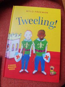 prentenboek Tweeling! Mylo Freeman