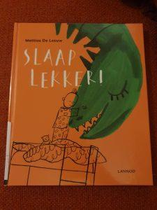 prentenboek Slaap lekker! Mattias De Leeuw Sylvia Vanden Heede
