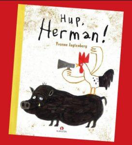 prentenboek Hup Herman Yvonne Jagtenberg