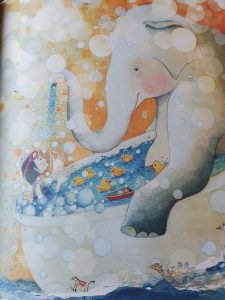 prentenboek Zola heeft een olifant Randall de Sève Pamela Zagarenski