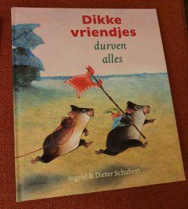 prentenboek Dikke vriendjes durven alles Ingrid Dieter Schubert