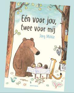 prentenboek Eén voor jou, twee voor mij Jörg Mühle