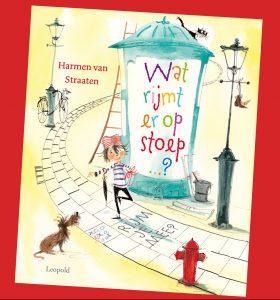 prentenboek Wat rijmt er op stoep? Harmen van Straaten
