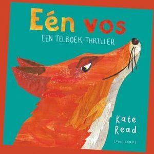 prentenboek Eén vos een telboekthriller Kate Read