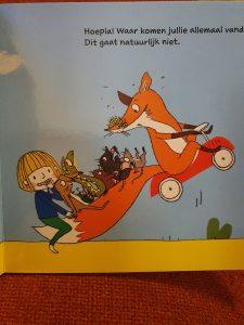 prentenboek Vos gaat een stukje rijden - Susanne Strasser
