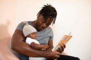 baby voorlezen