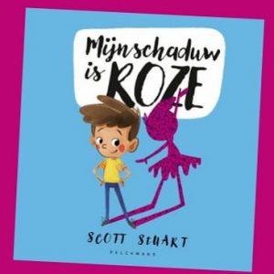prentenboek Mijn schaduw is roze Scott Stuart