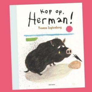 prentenboek Kop op, Herman! Yvonne Jagtenberg