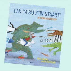 prentenboek Pak 'm bij zijn staart! 25 voorleesversjes Paul Biegel Jeska Verstegen